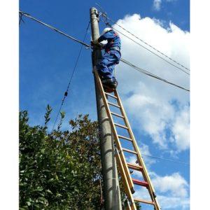 Scari portabile Enel pentru electricieni