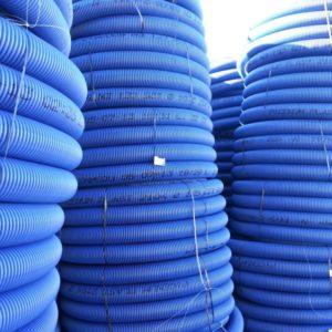 Tuburi corugate din PE pentru canalizare si drenaj
