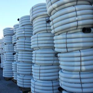 Tuburi electrice corugate din HDPE